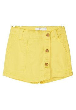 Name it - NAME IT SHORTS TWILLGEWEBE BAUMWOLL - Shorts - aspen gold