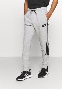 adidas Performance - 3 STRIPES FUTURE - Jogginghose - medium grey heather