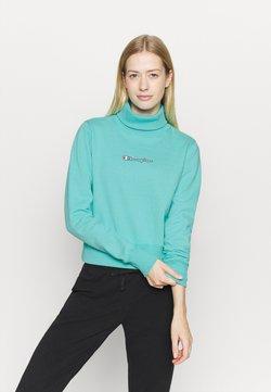 Champion - HIGH NECK ROCHESTER - Sweatshirt - turquoise