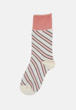 Dear Denier - INGRID SLANTS - Socken - rose/offwhite
