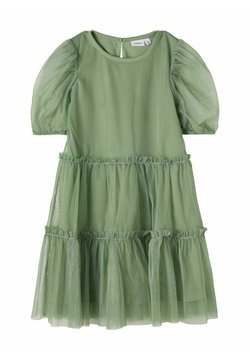 Name it - Cocktailkleid/festliches Kleid - hedge green