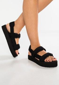 Vero Moda - VMLIA - Korkeakorkoiset sandaalit - black