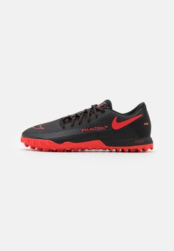 Nike Performance - REACT PHANTOM GT PRO TF - Fußballschuh Multinocken - black/chile red/dark smoke grey