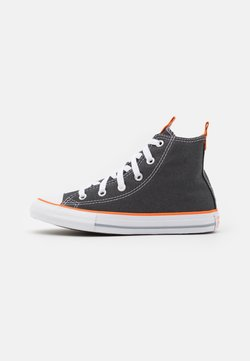 Converse - CHUCK TAYLOR ALL STAR SEASONAL UNISEX - High-top trainers - storm wind/magma orange/white