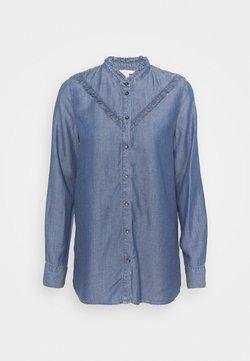 edc by Esprit - BLOUSE - Skjorta - blue denim