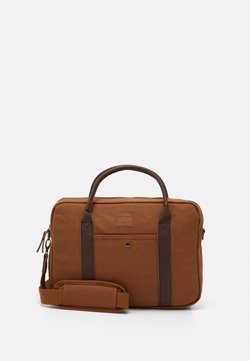 Jack & Jones - JACCANVAS BRIEFCASE - Aktentasche - rubber