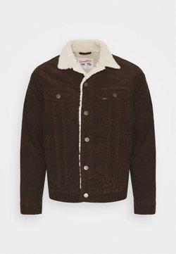 Lee - SHERPA  - Lett jakke - winter brown