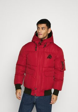Kings Will Dream - MILFORD PUFFER JACKET - Winterjacke - red