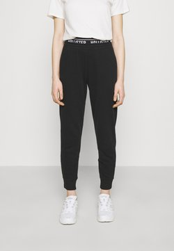 Hollister Co. - LOGO  - Jogginghose - black