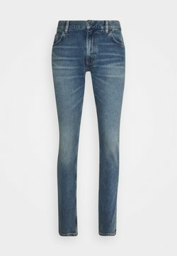 Tommy Hilfiger - LEWIS HAMILTON UNISEX INDIGO SLIM FIT JEANS - Jeans slim fit - indigo denim