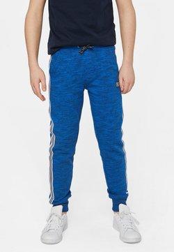 WE Fashion - WE FASHION JONGENS JOGGINGBROEK MET TAPEDETAIL - Verryttelyhousut - blue