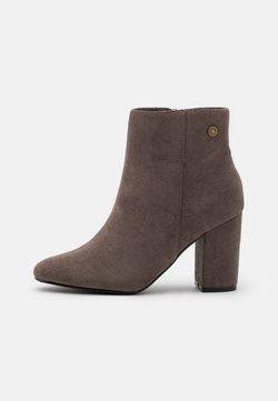 Refresh - High Heel Stiefelette - grey