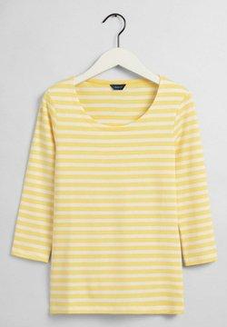 GANT - Langarmshirt - brimestone yellow