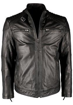 JCC - MIT STEHKRAGEN IK3 - Leren jas - black