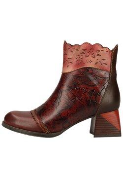 LAURA VITA - Ankle Boot - wine