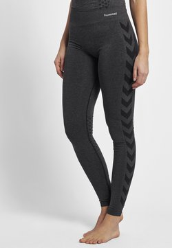 Hummel - CLASSIC BEE CI SEAMLESS - Tights - black melange