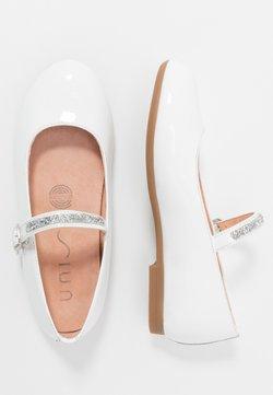 Unisa - CLERVY - Riemchenballerina - white