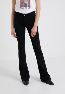 Frame Denim - LE HIGH  - Jeans a zampa - film noir