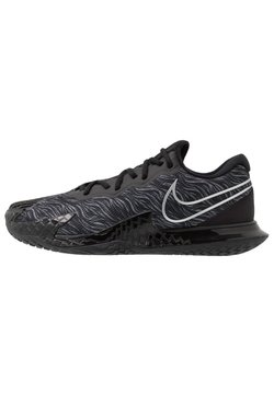 Nike Performance - AIR ZOOM VAPOR CAGE 4 - Multicourt Tennisschuh - black/metallic silver/university red