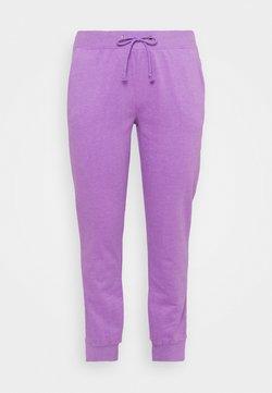 Simply Be - FASHION JOGGER - Jogginghose - violet