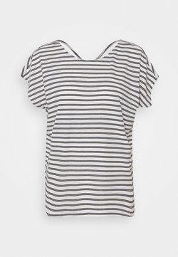 Vero Moda - VMALONA - T-Shirt basic - navy blazer/white