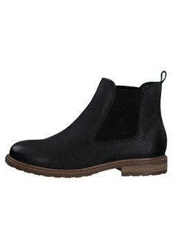 Tamaris - Ankle Boot - black nubuc