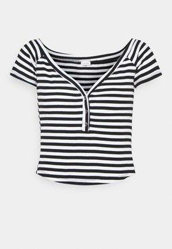 LASCANA - STREIFEN - T-Shirt print - schwarz/weiß
