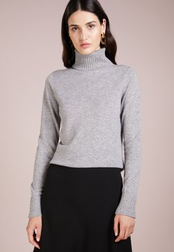 FTC Cashmere - ROLLNECK - Sweter - opal grey