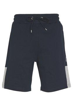 CLOSURE London - SCRIPT SIDE PANELLED  - Spodnie treningowe - navy