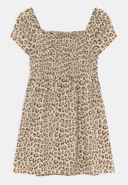 GAP - GIRLS SMOCKED  - Jerseykleid - beige
