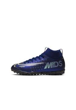 Nike Performance - MERCURIAL JR 7 ACADEMY TF UNISEX - Scarpe da calcetto con tacchetti - blue void/white/black/metallic silver