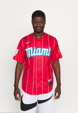 Nike Performance - MLB CITY CONNECT MIAMI MARLINS OFFICIAL REPLICA - Vereinsmannschaften - red