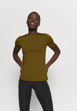 Nike Performance - ALL OVER - T-paita - olive flak/black