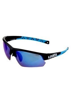 Uvex - SPORTSTYLE  - Sportbrille - black mat blue