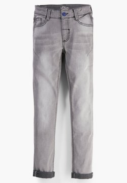 s.Oliver - MIT WASCHUNG - Slim fit jeans - grey