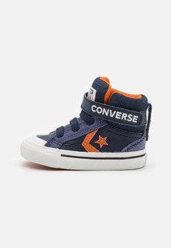 Converse - PRO BLAZE STRAP UNISEX - Baskets montantes - obsidian/fire pit/white
