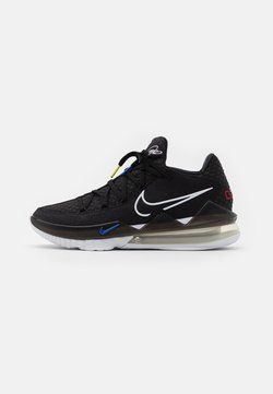 Nike Performance - LEBRON XVII LOW - Chaussures de basket - black/multicolor/white/university red