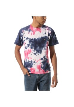 Vans - OFF THE WALL CLASSIC BURST TIE DYE - Print T-shirt - vans cool pink tie dye