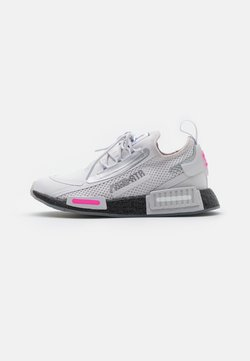 adidas Originals - NMD_R1 SPEEDLINES BOOST SHOES - Sneaker low - grey/core black/screaming pink