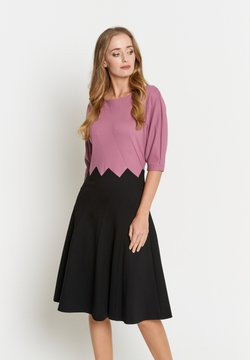 Madam-T - ERGO - Vestito di maglina - pink schwarz