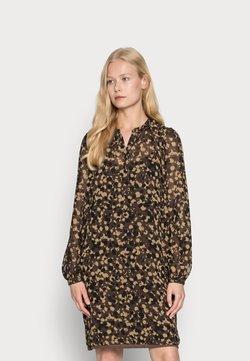 Esprit Collection - DRESSES LIGHT WOVEN - Blusenkleid - dark brown