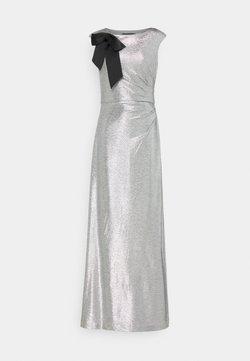 Lauren Ralph Lauren - LONG GOWN - Robe de cocktail - dark grey/silver