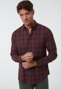 Jimmy Sanders - Hemd - bordeaux