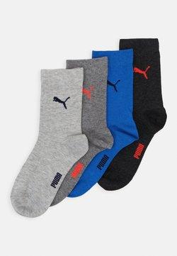 Puma - EASY RIDER 4 PACK - Socken - grey/black/blue