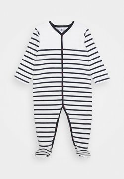 Petit Bateau - DORS BIEN VET - Pijama - white/dark blue