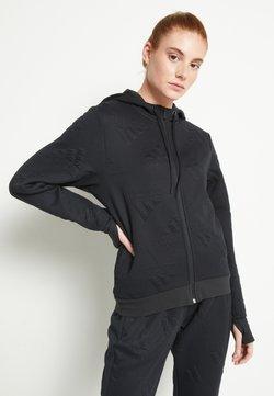 adidas Performance - Bluza rozpinana - black