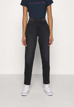 ONLY - ONLVENEDA LIFE MOM  - Relaxed fit jeans - black denim
