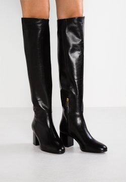 Filippa K - JADE HIGH BOOT - Overknees - black