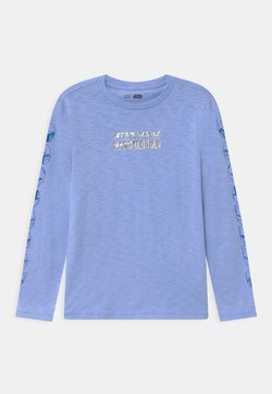 GAP - BOY STAR WARS MANDALORIAN - Pitkähihainen paita - resolution blue
