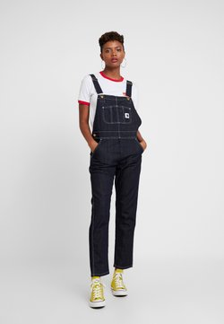 Carhartt WIP - OVERALL - Salopette - dark stone washed